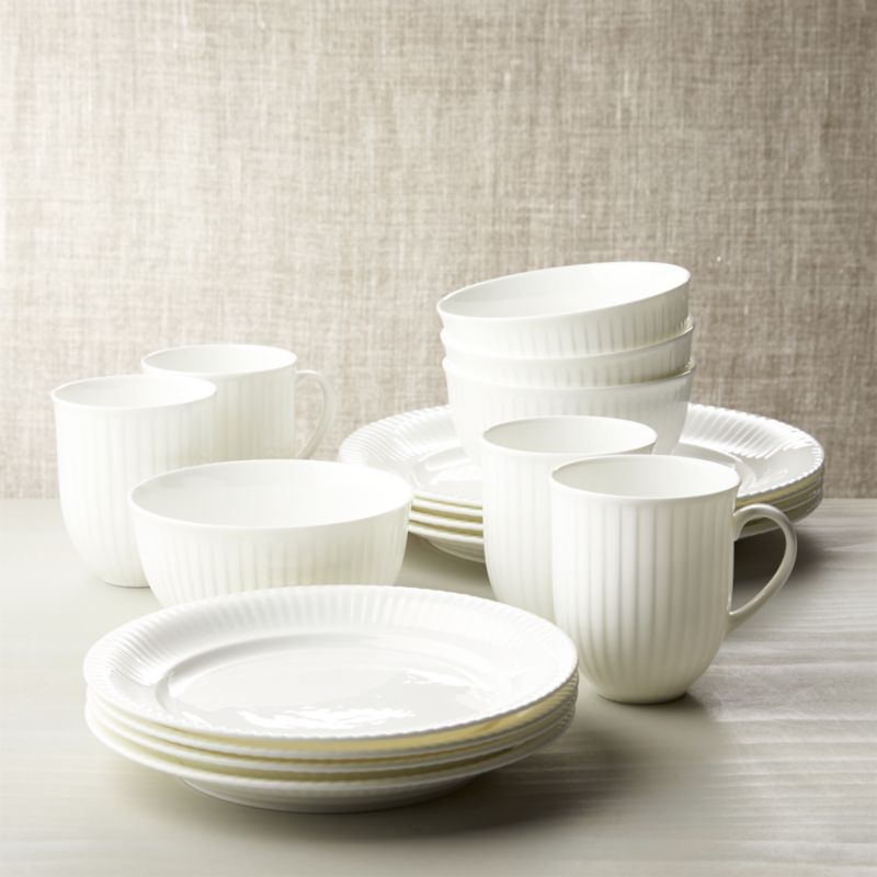 Olivia 16-Piece Dinnerware Set