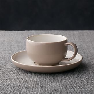 Olson Grey Cup and Saucer