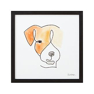 One Liner Jack Russell Print