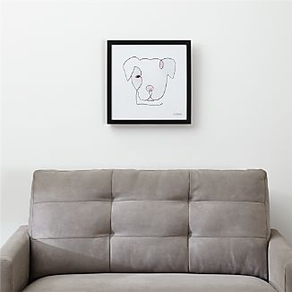 One Liner Pittie Print