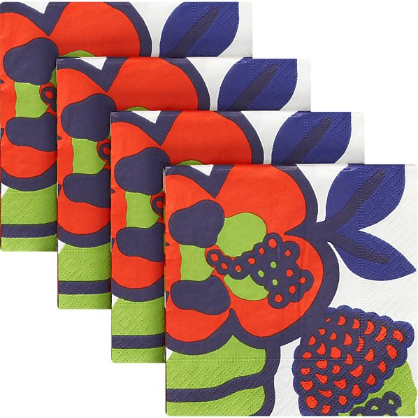 Marimekko Oona Beverage Napkins Set of 20