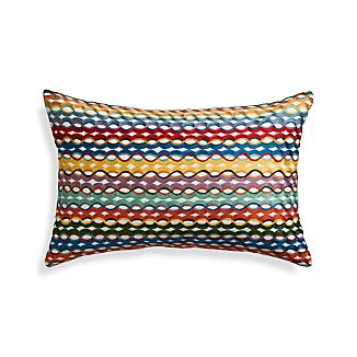 "Oppice 20""x13"" Pillow with Down-Alternative Insert"