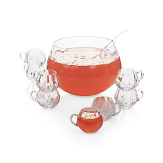 Optic 10-Piece Punch Bowl Set