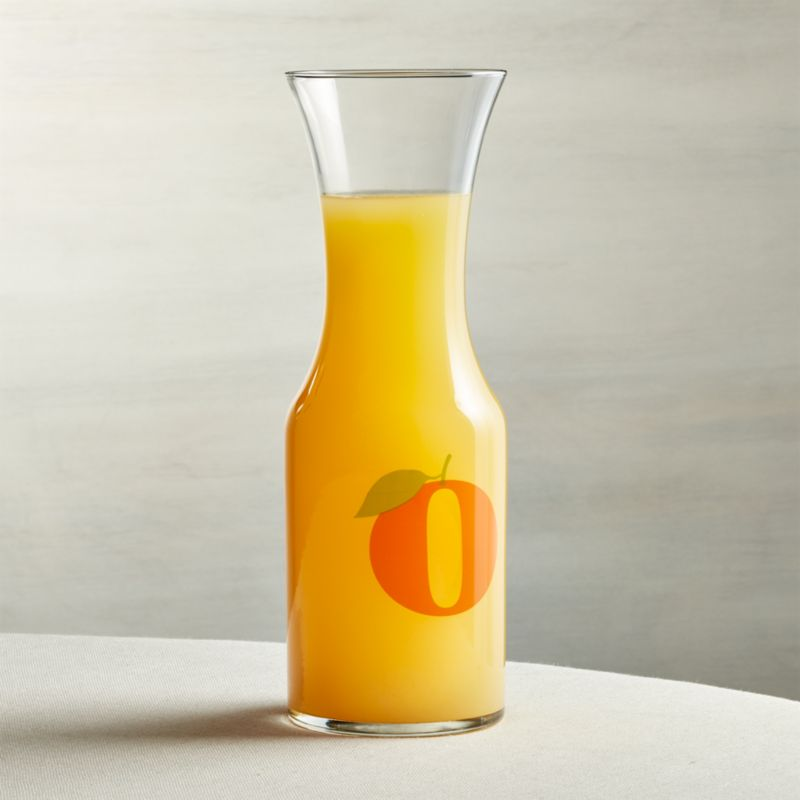 Orange Juice Carafe