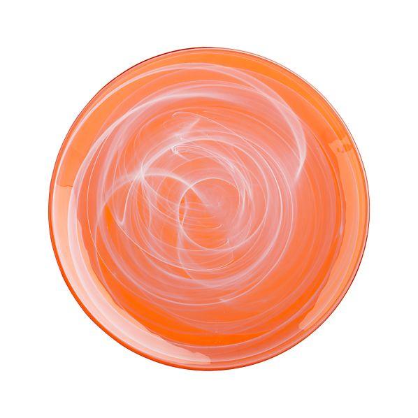 "Orangeade 11"" Dinner Plate"