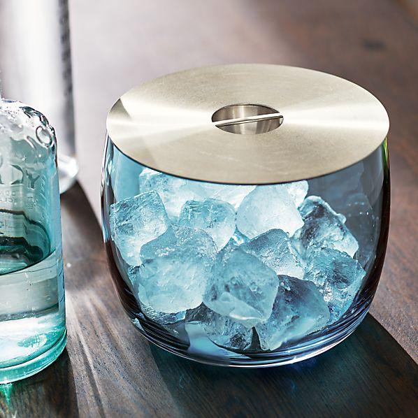 Orb Aqua Ice Bucket
