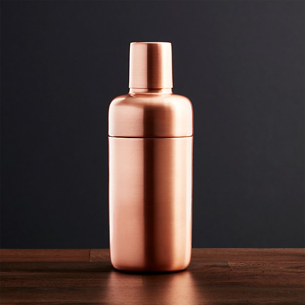 Orb Copper Shaker