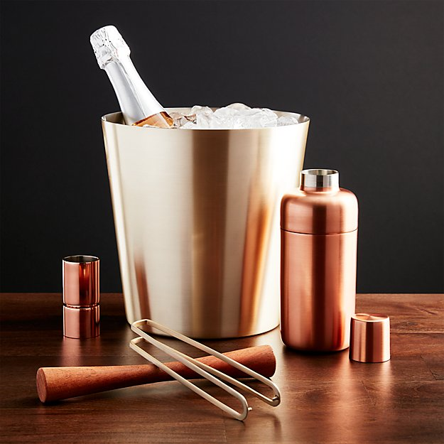 Orb Wine Champagne Bucket Crate And Barrel