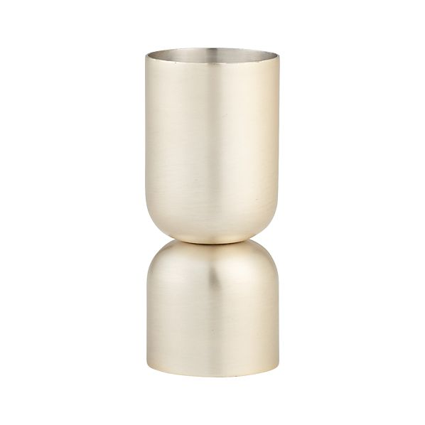 Orb Champagne Gold Jigger