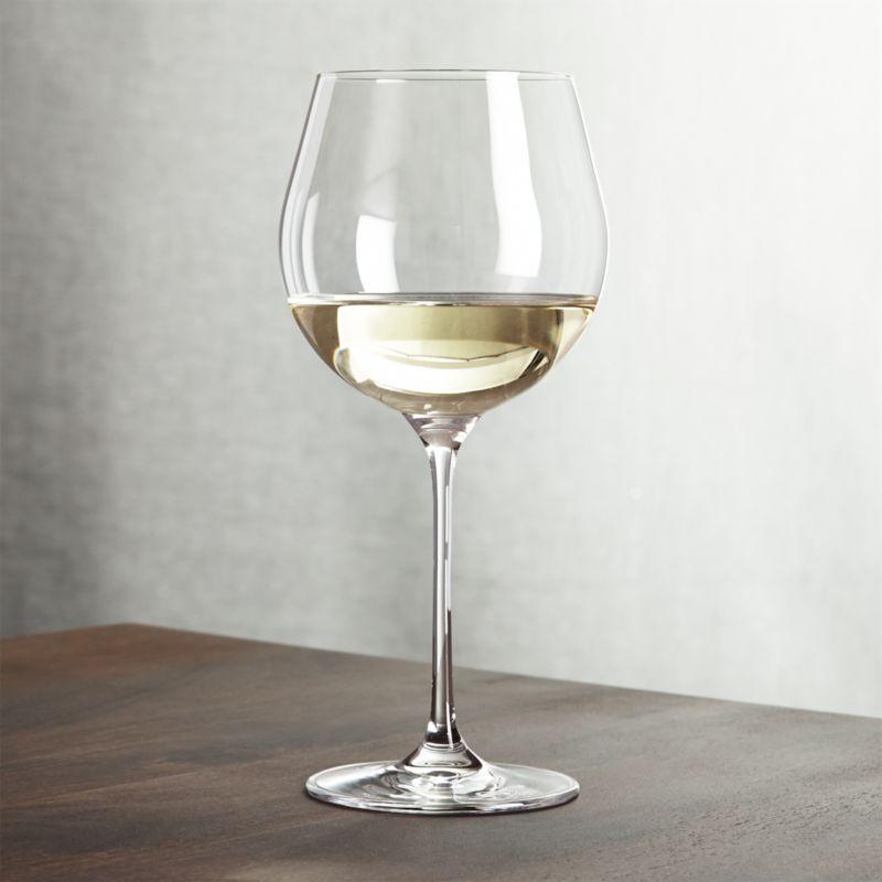 Oregon 22 Oz White Wine Glass Crate And Barrel