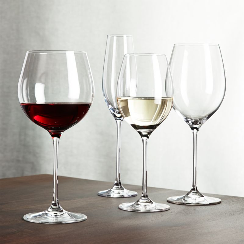 Oregon Wine Glasses Crate And Barrel