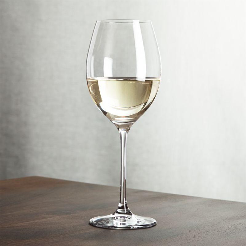 Oregon White Wine Glass Crate And Barrel
