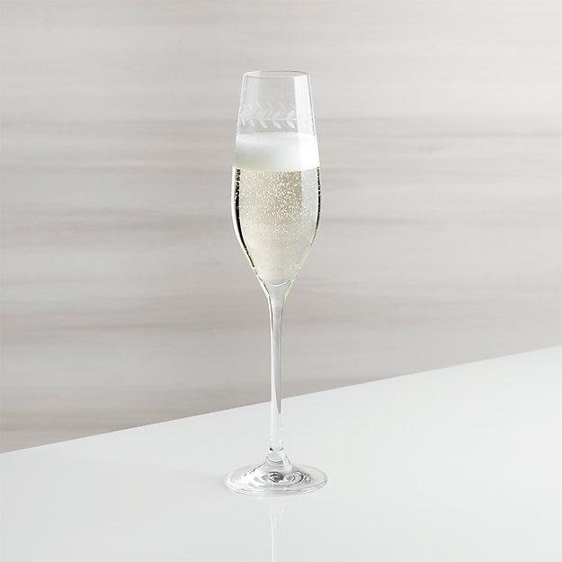 Oregon Vine Champagne Glass