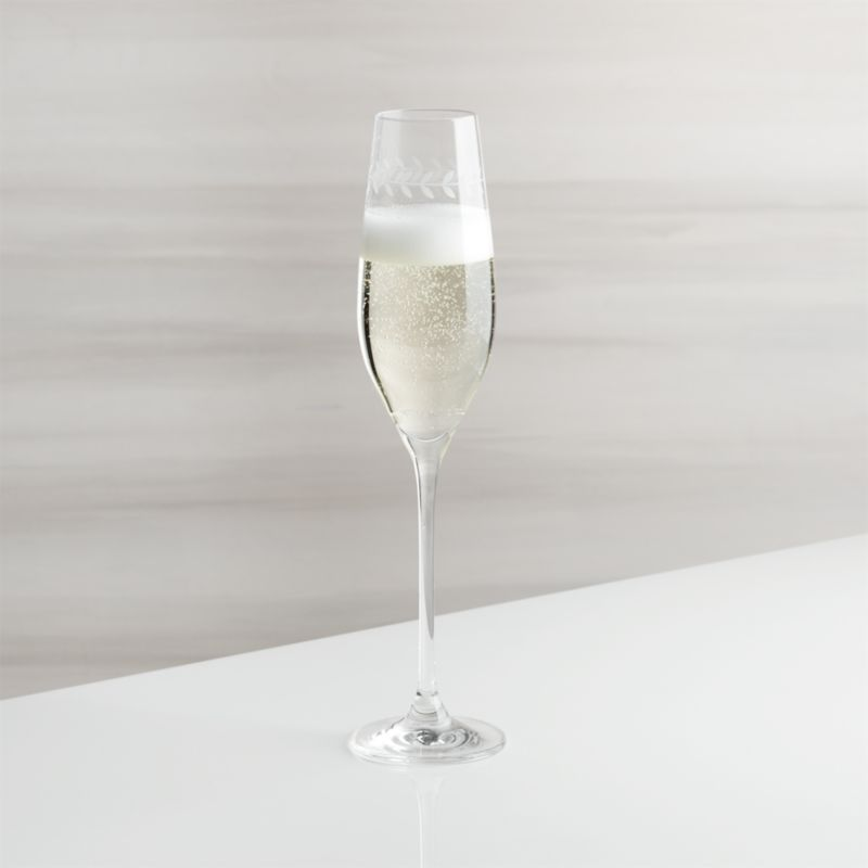 Oregon Vine Champagne Glass