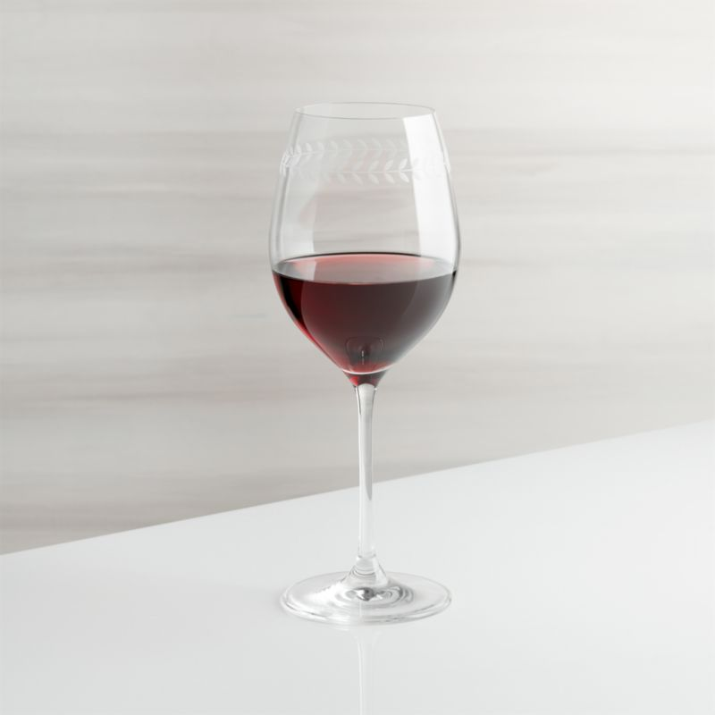 Oregon Vine Red Wine Glass