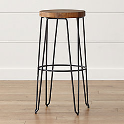 Origin Backless Counter Stool Crate And Barrel