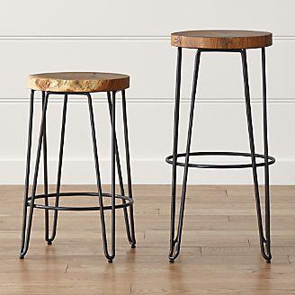 Bar Stools And Counter Stools Wood Metal And More