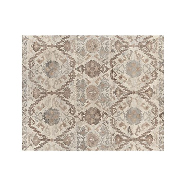 Orissa Neutral Wool 8'x10' Rug