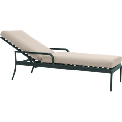 Orleans Chaise Lounge Chair with Sunbrella® Stone Cushion