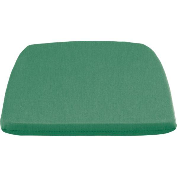 Orleans Sunbrella ® Bottle Green Dining-Spring Chair Cushion