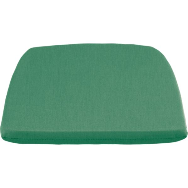 Orleans Sunbrella ® Bottle Green Dining-Spring Chair Cushion