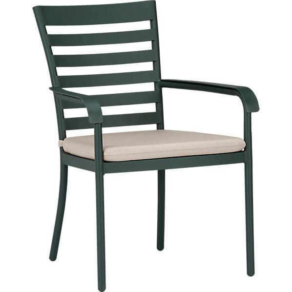 Orleans Dining Chair with Sunbrella ® Stone Cushion