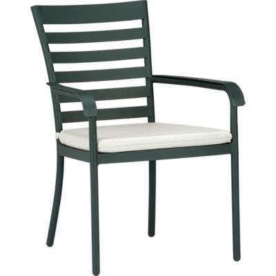 Orleans Dining Chair with Sunbrella® White Sand Cushion
