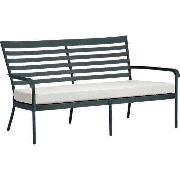 Orleans Sofa with Sunbrella ® White Sand Cushion