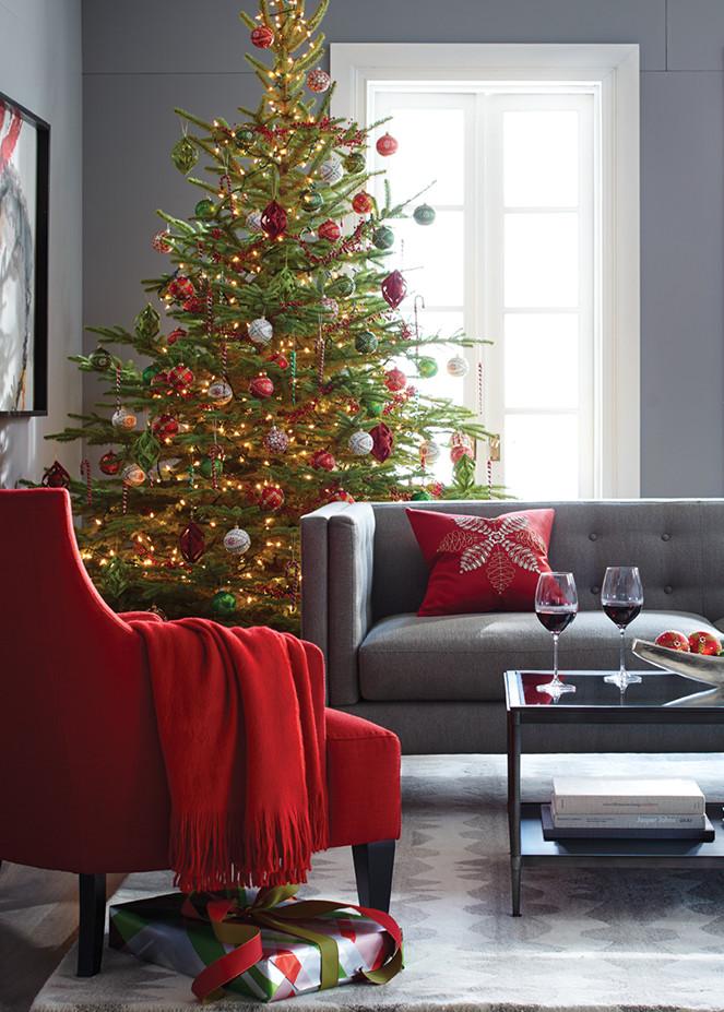 Christmas tree ornaments crate and barrel - Crate and barrel espana ...