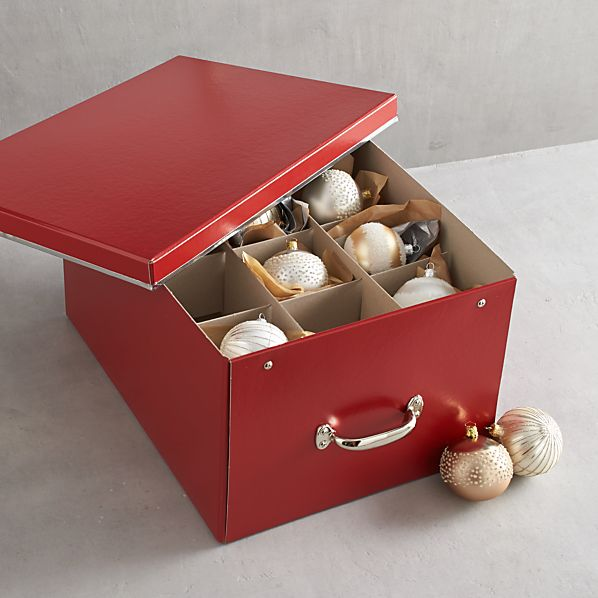 Bigso ® Red Ornament Box