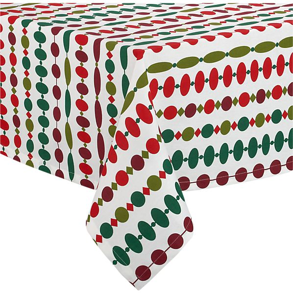 "Ornament 60""x60"" Tablecloth"