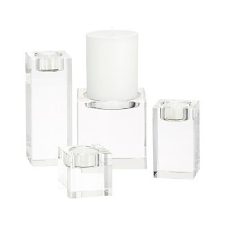 Oslo Crystal Candle Holders