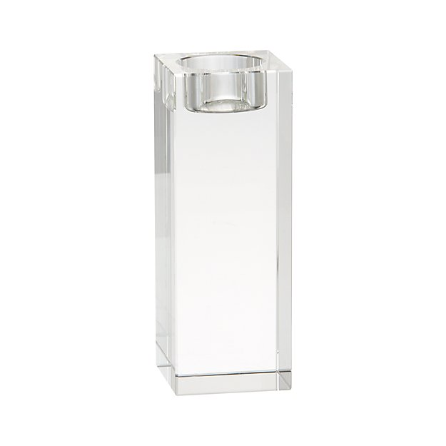 Oslo Large Crystal Tea Light Candle Holder