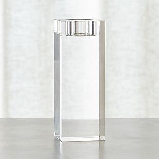 Oslo Large Crystal Tea Light Candle Holder