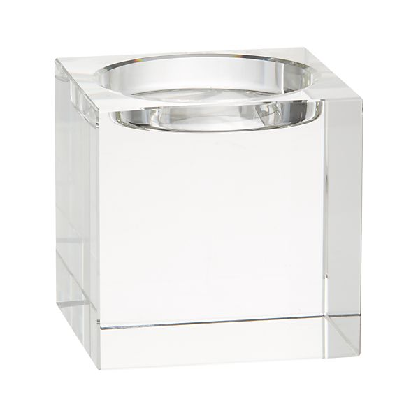 Oslo Crystal Pillar Holder