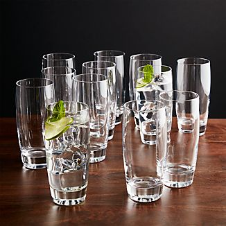 Set of 12 Otis Highball Glasses
