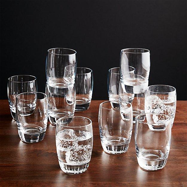 set of 12 otis juice glasses crate and barrel. Black Bedroom Furniture Sets. Home Design Ideas