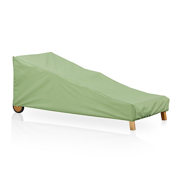 Chaise lounge outdoor furniture cover crate and barrel for Chaise couch cover
