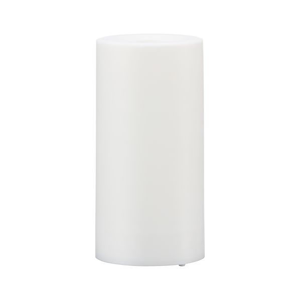 "Outdoor 3""x6"" Pillar Candle with Timer"