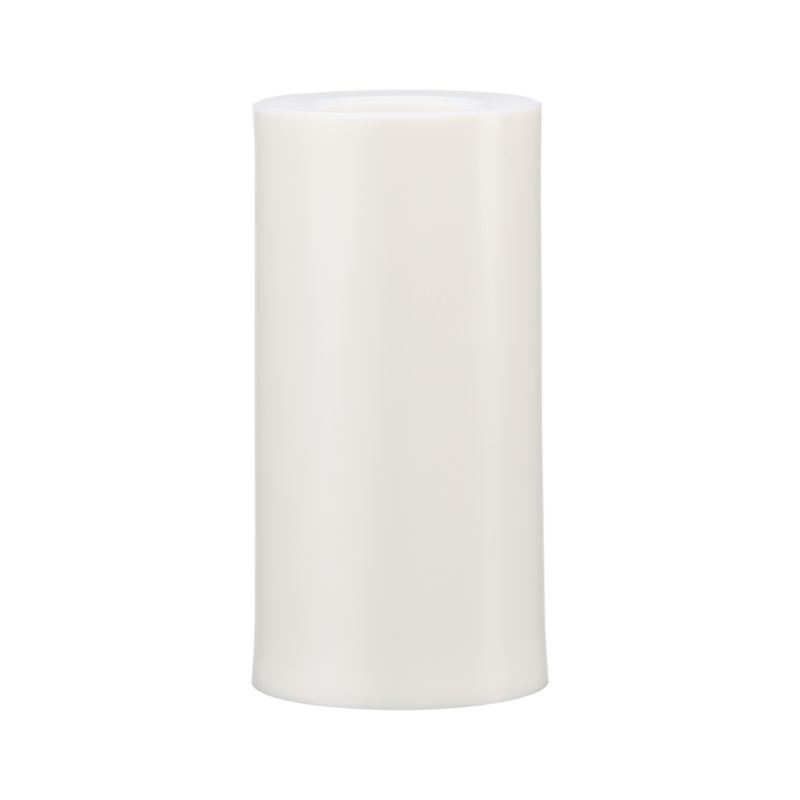Candlelight without the flame. Realistic candle sets the patio aglow with the flip of the switch. Or set the timer to turn it on at a designated time, and it will automatically turn off in five hours and relight at the same time each day.<br /><br /><NEWTAG/><ul><li>Plastic</li><li>Uses two AA batteries (not included)</li><li>Three-way switch: On/Off/Timer</li><li>Made in China</li></ul>