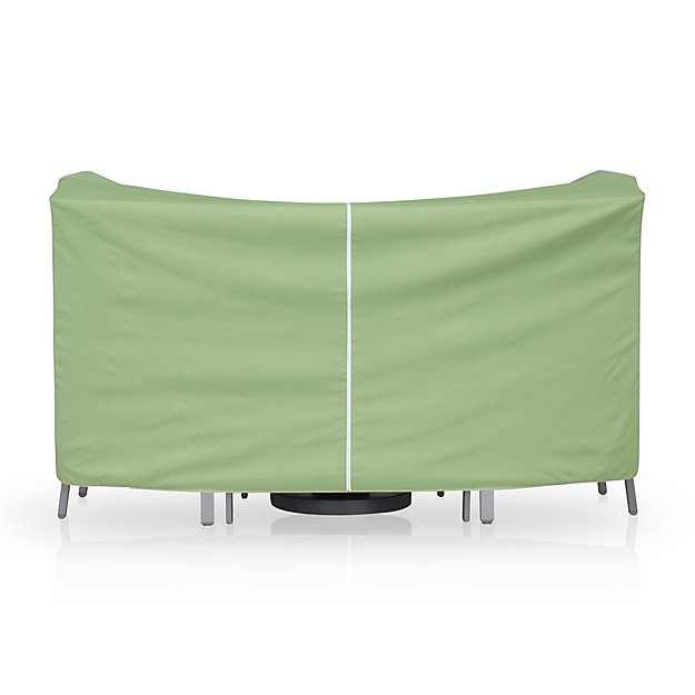 High Dining Table Barstools Outdoor Furniture Cover