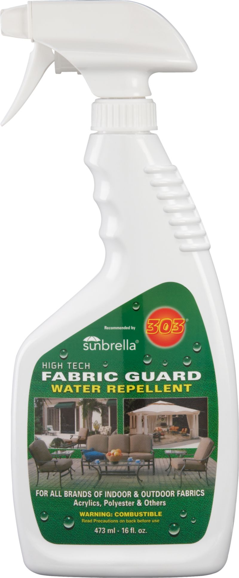 Odorless, non-toxic solution protects outdoor fabrics from dirt and stains and restores water repellency.<br /><br /><NEWTAG/><ul><li>Non-toxic</li><li>Odorless</li><li>Made in USA</li></ul>
