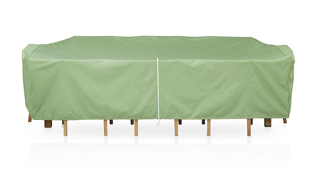 Large Rectangular Table and Chair Outdoor Furniture Cover