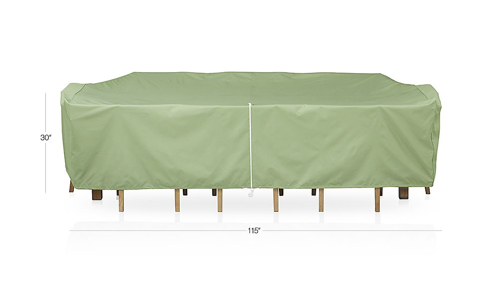 Rectangular Table and Chair Outdoor Furniture Cover