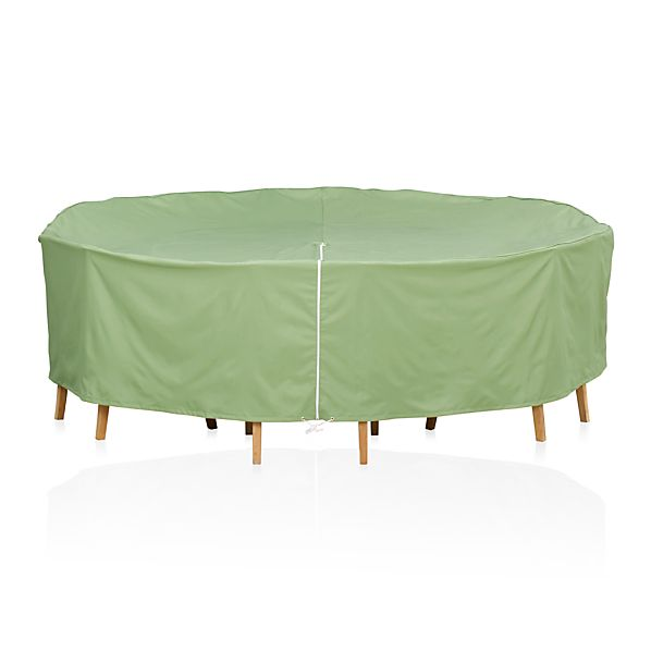 Round Table/Chairs Cover with Umbrella Option