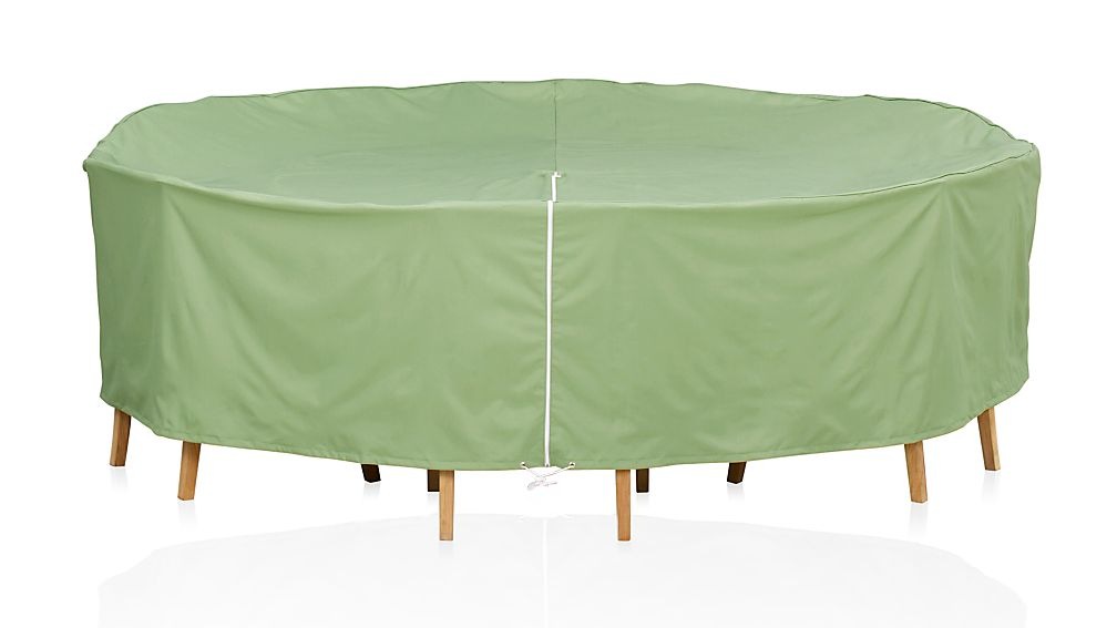 Round Table Chairs Outdoor Furniture Cover with Umbrella Option