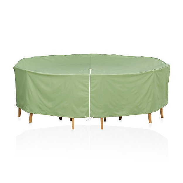 Round Table Chairs Outdoor Furniture Cover With Umbrella