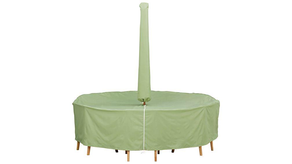 Small Umbrella Outdoor Furniture Cover