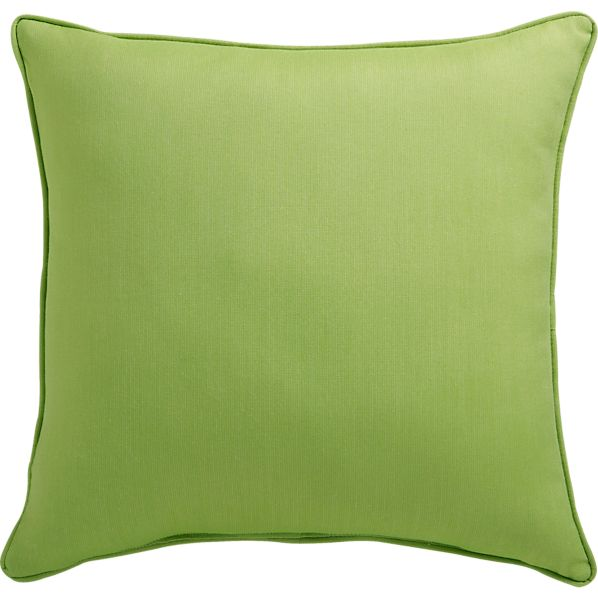 "Sunbrella ® Kiwi 20"" Sq. Outdoor Pillow"