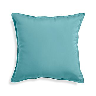 "Sunbrella ® Mineral Blue 20"" Sq. Outdoor Pillow"